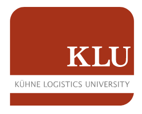Logo of KLU Kühne Logistics University