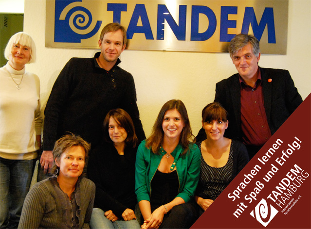 A group of TANDEM Hamburg staff