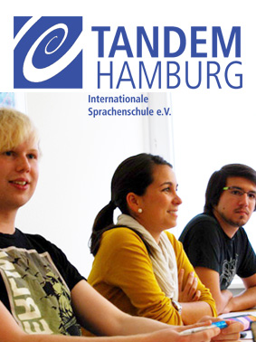 Students in a German eveneing class