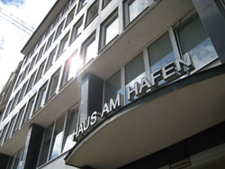 Haus am Hafen, the entrance to our school